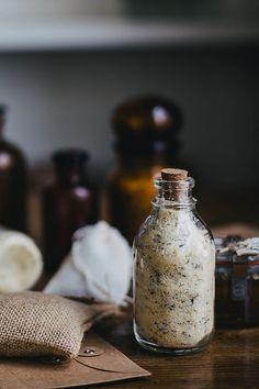 DIY Gifts: Satsuma Herb de Provence Salt & Saffron Lavender Honey // Kinfolk Workshop TN