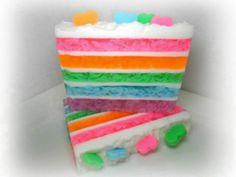Pastel Cake Soap by Kokolele on Etsy