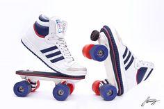 On Wheelz, le patin à roulette rétro qui fait fureur sur Kickstarter - http://www.leshommesmodernes.com/on-wheelz-kickstarter/