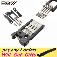 Hot !! Top Selling High Quality 19 in 1 Hex Key Screwdriver Wrench Bicycle Bike Tools Multi Repair Tool Kit Set -  http://mixre.com/hot-top-selling-high-quality-19-in-1-hex-key-screwdriver-wrench-bicycle-bike-tools-multi-repair-tool-kit-set/  #BicycleRepairTools