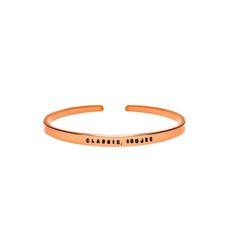 Classic, Boujee Cuff Bracelet - Brass