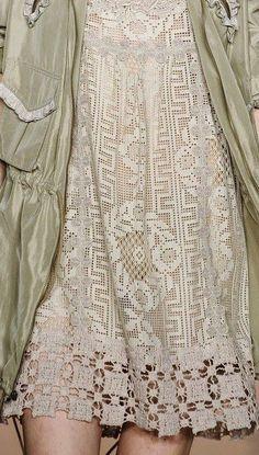 Inspirações de Croche com Any Lucy: Vestido:
