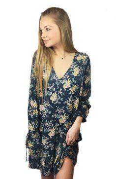 Beautiful in boho//Floral dress