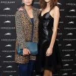 Pixie Geldof and Alexa and Chung at the Longchamp Party