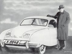 Concept Saab 92001 by Sixten Sason, 1945 / 1946.