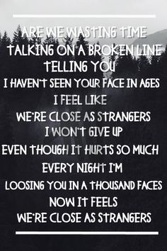 Close As Strangers - 5 Seconds of Summer