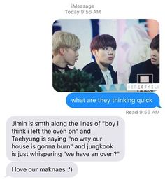 BTS| A conversation they probably did have, love the bbys