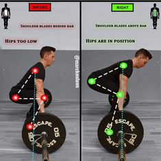 Even if you are new you would have known about this extremely common exercise performed by bodybuilders and average trainers. However the world deadlift can seem extremely daunting. You will understand that deadlifting is one of the must do exercise Fitness Hacks, Fitness Workouts, Fitness Herausforderungen, Gym Workout Tips, Weight Training Workouts, Workout Challenge, Fun Workouts, At Home Workouts, Fitness Motivation