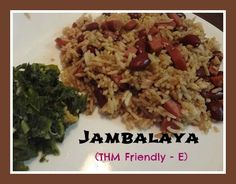 Trim Healthy Mama Jambalaya (E) I'm not normally a fan of rice or beans, but I do like my jambalaya. And since I'm not a fan of seafood, jambalaya means rice, beans, sausage and chicken. But if you're trying to … Continue reading →