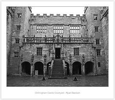 Chillingham Castle in Northumberland, England. One of the most haunted places in the UK Abandoned Castles, Abandoned Houses, Abandoned Places, Abandoned Mansions, Most Haunted Places, Scary Places, Strange Places, Real Haunted Houses, Haunted Castles