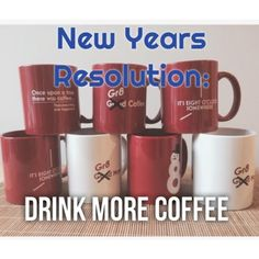 Our resolution? Drink more #coffee! c[_]