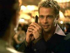 "Brad Pitt Image: Brad Pitt in ""Ocean's Eleven"" Brad Pitt Images, Bratt Pitt, Ocean's Movies, Oceans 11, I Love Cinema, Taylor Kinney, Gold Aesthetic, Ideal Man, Phil Collins"