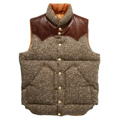 Really want a tweed down vest this winter.