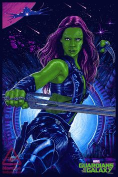 Gamora by Vance Kelly | Guardians of the Galaxy