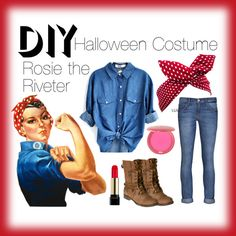 """Rosie the Riveter"" by i-heart-tigger on Polyvore"
