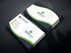 The creative High Quality Stylish Versatile Business Card Template was created with Photoshop in PSD format. A highly versatile business card design template Spa Business Cards, Professional Business Cards, Business Logo, Business Card Design, Visiting Card Templates, Photography Business Cards, Social Media Banner, Graphic Design Templates, Global Business