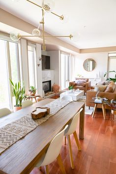 Dining Room Bar Kitchen Reveal in Partnership with HomeSense Canada A Bohemian Mid Century Modern Apartment in Calgary Alberta Canada Dining Room Bar, Elegant Dining Room, Living Room Kitchen, Dining Room Design, Living Room Modern, Bar Kitchen, Dining Rooms, Kitchen Dining, Dining Chairs