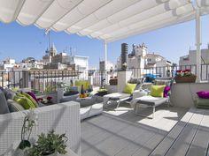 Un rooftop en Catalogne