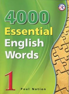 4000 essential english words 1 4000 Essential English Words is a six-book series that is designed to focus on practical high-frequency words to enhance the vocabulary of learners from high beginning to advance levels. https://www.youtube.com/watch?v=DBs6LyoP1eE .. https://www.youtube.com/watch?v=yHubNSgy7_8 ... https://www.youtube.com/watch?v=oTvOJ6Z1T_M