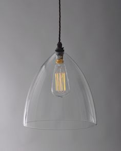 Glass Pendant Lighting | Ledbury Glass Pendant Light