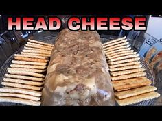 Pork Head Cheese Recipe, Souse Meat Recipe, Loaf Recipes, Cheese Recipes, Cooking Recipes, Yummy Recipes, Homemade Chinese Food, Easy Mashed Potatoes