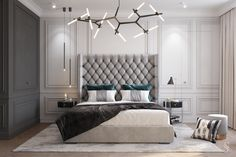 Bedroom Setup, Home Bedroom, Bedroom Decor, Apartment Interior, Room Interior, Flat Interior Design, Dressing Room Design, Home Room Design, Luxurious Bedrooms