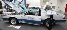 1982 Z28 Indianapolis 500 Pace Car at the Corvette/Chevy Expo in Texas.