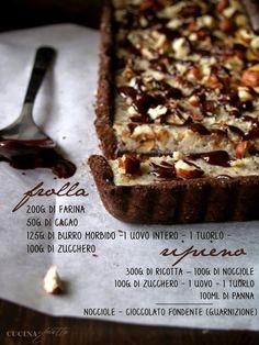 Sono quasi sicura di aver visto questa ricetta su Sale&Pepe dell'anno scorso, avevo una fotografia sul telefono ma nessuna ricetta. No...