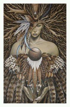 Freyja: Norse deity of love, sexuality, beauty, fertility, gold, war, death, & Seiðr. Daughter of Njörðr. She is also known as Gefn, Valfreyja, Hörn, Mardöll, Skjálf, Sýr, & Vanadís.