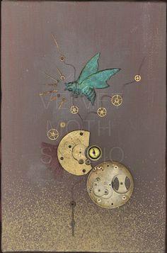 Velvet Moth Studio: Steampunk art
