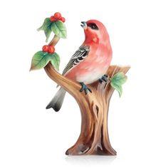 Franz porcelain bird figurine