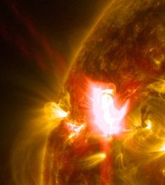 NASA Releases Images of M-class Solar Flare | NASA. Image Credit: NASA/SDO/Goddard Space Flight Center