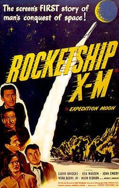 Rocketship X-M - 1950 - Movie Poster