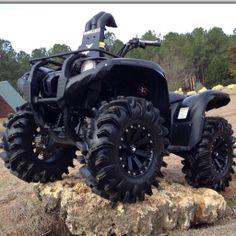 #Grizzly #SuperATV #TerminatorTires Custom Chevy Trucks, Ford Trucks, Atv Motocross, Yamaha Atv, Horse Riding Boots, Atv Accessories, Quad Bike, Four Wheelers, Cruise Outfits