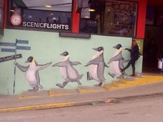 Walking in the streets of End of world ( Ushuaia - Argentina)