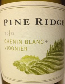 The vivacious palate leads with crisp yellow grapefruit, fresh-cut pineapple and sumptuous honeyed pear notes. Lush and lively fruit flavors linger through the clean and slightly off-dry finish. https://www.drync.com/bottles/2012-pine-ridge-chenin-blanc-viognier-napa-valley
