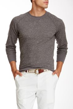 Marled Crew Pullover by Billy Reid on @nordstrom_rack