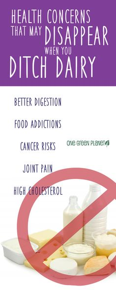 health concerns that may disappear when you ditch dairy #vegan #vegetarian #health