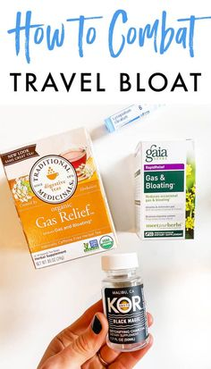 Travel bloat is a real thing! Almost every time I travel (especially if my flight is longer than 2 hours or so), I end up really bloated and gassy. Bloated And Gassy, Bloated Belly, Airport Restaurants, Relieve Bloating, Gas Relief, Protein Rich Foods, Travel Snacks, Carbonated Drinks, Chip Bags