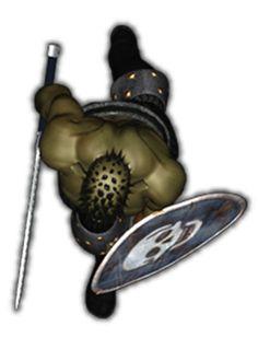 orc sword shield