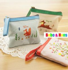 Aliexpress.com : Buy New fashion forest dream style fabric coin Purses / coin bag / Portable Wallet / Wholesale from Reliable bag pocket suppliers on Bobo & Hans $23.00