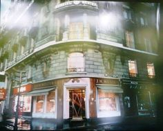 Weston store on the Champs-Elysees before renovation 10 years ago.