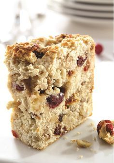 Discover recipes, home ideas, style inspiration and other ideas to try. Healthy Dessert Recipes, Just Desserts, Cake Recipes, Granola Cookies, Confort Food, Desserts With Biscuits, Cranberry Recipes, Dessert Bread, Gluten Free Cookies