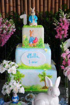 bolo Peter Rabbit, cake, Páscoa, easter