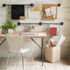 West Elm offers modern furniture and home decor featuring inspiring designs and colors. Create a stylish space with home accessories from West Elm. Diy Home, Home Decor, Ideias Diy, Hanging Storage, Wall Storage, Create Space, Office Organization, My New Room, Getting Organized