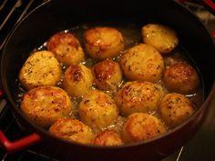 Cartofi fondanti la cuptor - Cartofi fondanti la cuptor
