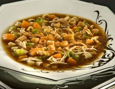 Receita de sopa oriental Receitas Light