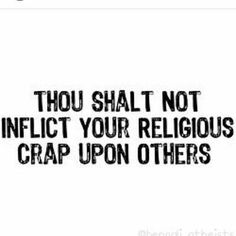 Remember this commandment and keep it holy. #atheist #atheism #religion