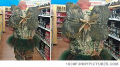 Camo tooth fairy... Only at Walmart @Theresa Hamalainen-Watts okay but mom really... Is that tony?.... Because I really think it might be...
