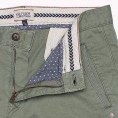 Hilfiger Denim Ferry Slim Fit Chino - agave green-pt (Green) - Hilfiger Denim Trousers - detail image 3